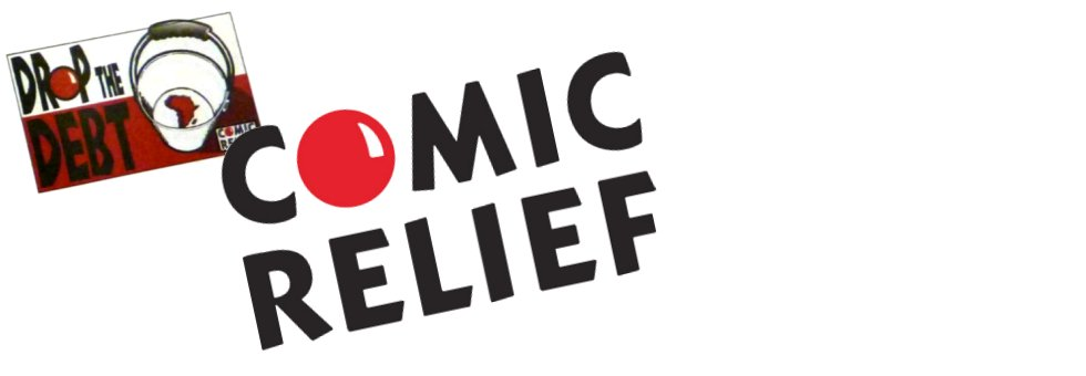 Comic Relief 'Drop The Debt' Press Ad